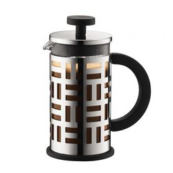 Bodum Eileen Stainless Steel French Press Coffee Maker front view