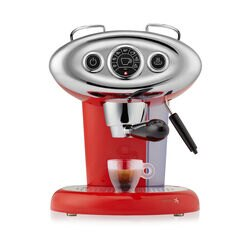 Francis Francis X7.1 Red Espresso Machine front view