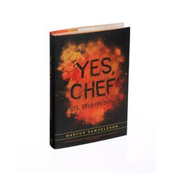 Yes Chef Marcus Samuelsson book front cover view