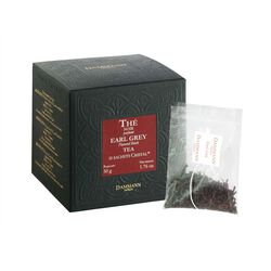Earl Grey Tea Sachets Box front view