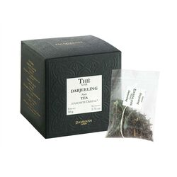 Darjeeling Tea Sachets Box front view