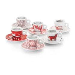Watermill Center illy Art Collection Espresso Cups