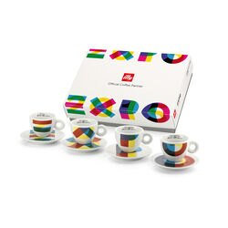Special Edition Expo 2015 illy Art Collection Cups