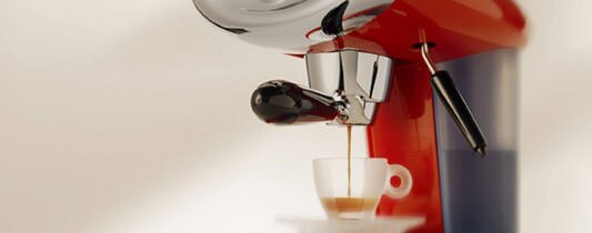 Capsule Coffee Machine brewing illy Espresso