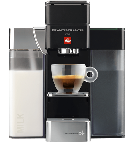 Espresso coffee machine illy Y5 Milk Iperespresso