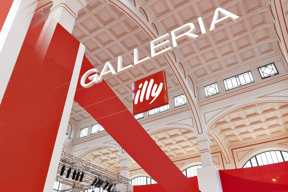 GALLERIA ILLY TRAVELS THE WORLD