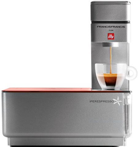 Espresso coffee machine illy Y1.1 Touch Iperespresso