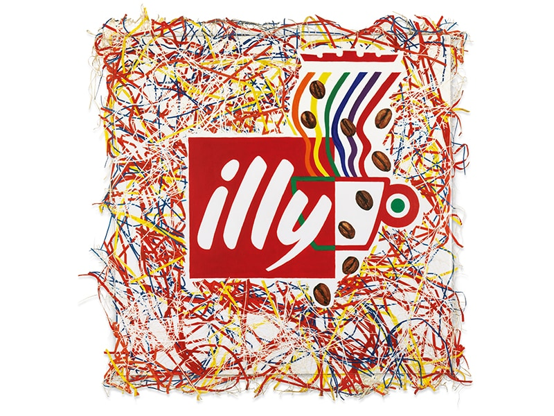 illy logo - illy and contemporary art