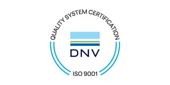 DNV certificazione ISO 9001