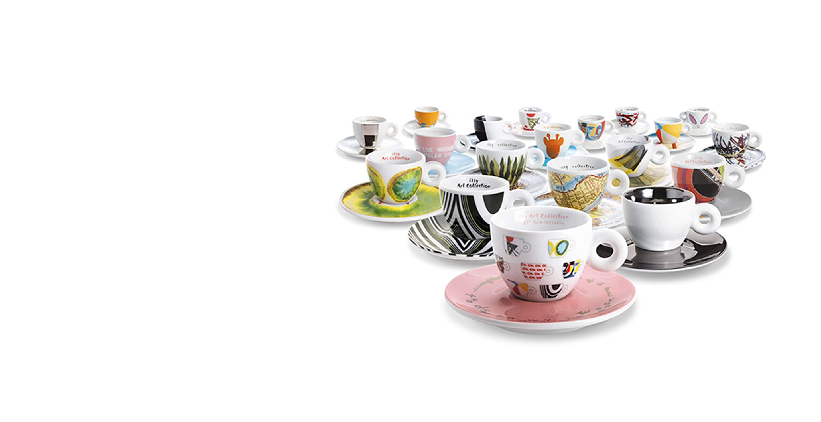 Tazzine illy Art Collection