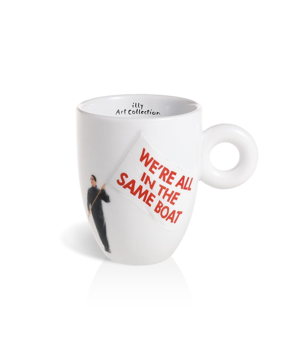 Caneca Marina Abramovich illy Art Collection