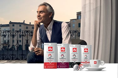 Compatible Capsules with illy logo espresso cup