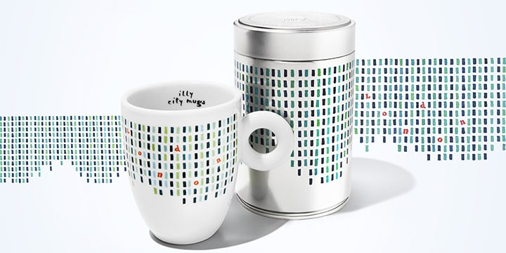 City mug e can Londra