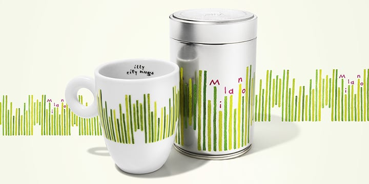 City mug e can Milano