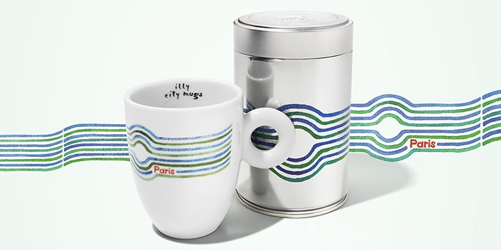 City mug e can Parigi