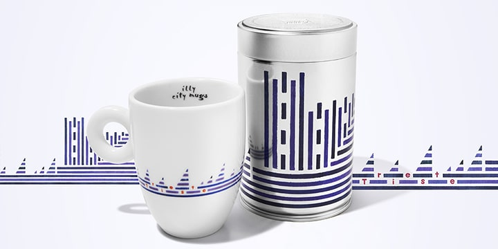 City mug e can Trieste