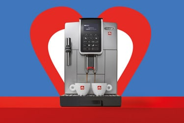 Macchina caffe in grani de longhi for illy