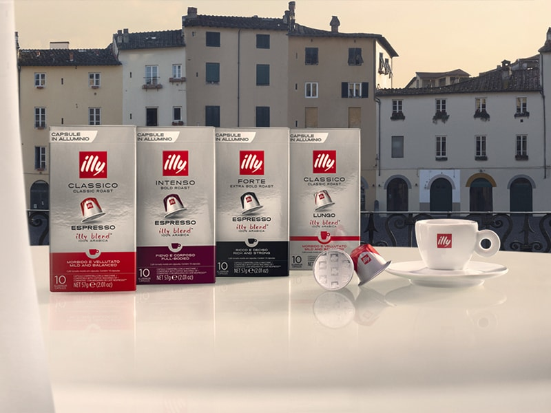 illy compatible capsules