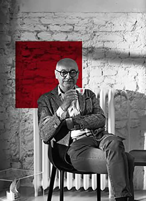 Piero Lissoni with illy coffee