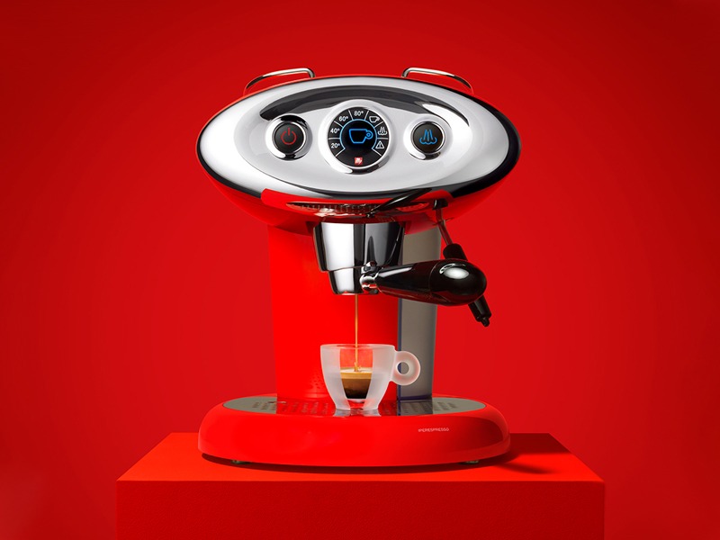 X7.1 iperEspresso Machine Red