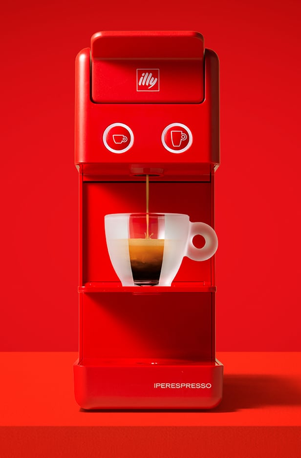 Register your illy Iperespresso Machine