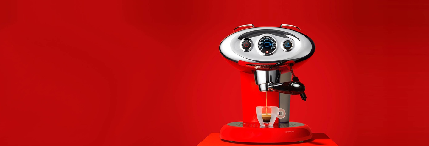 x7.1 red iperespresso machine with recurring deliveries
