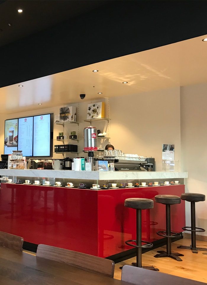 illy New Montgomery Street location