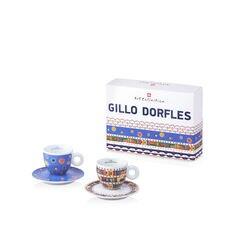 Gillo Dorfles Set of 2 Cappuccino Cups