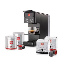 Y3.2 iperEspresso Espresso & Coffee Bundle Black Front View