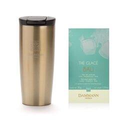 Dammann Frères - Thermosbeker goud + Bali ijsthee