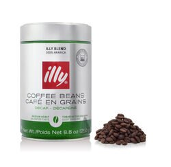 Whole Bean Coffee - Decaffeinated - 8.8oz Can - illy