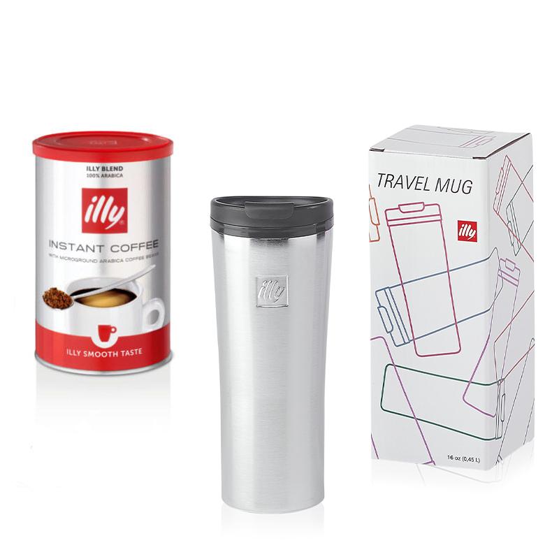 Idee regalo: tazza Travel mug KeepCup in acciaio e caffè istantaneo classico