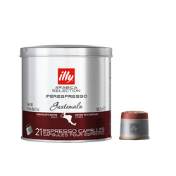 Capsules de café iperEspresso – Guatemala sélection Arabica – 21 capsules – illy