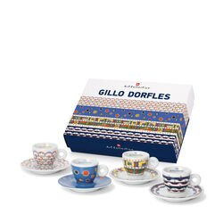 illy Art Collection - Gillo Dorfles Espresso Cups (Set of 4)