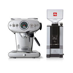 Paquete máquina de café E.S.E. y molido con molinillo