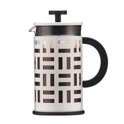 Bodum Eileen French Press White Coffee Maker front view