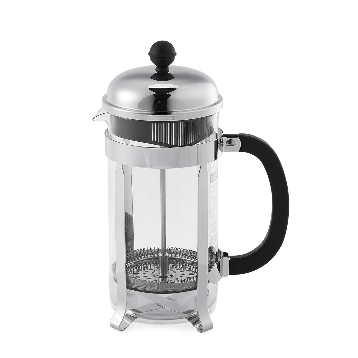 French Press Coffee Maker Cholesterol : Bodum Chambord French Press - Moka Pots & French Presses - illy eShop