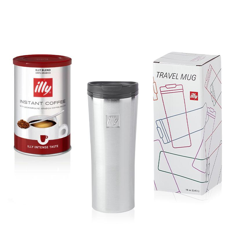 Idee regalo: tazza Travel mug  KeepCup in acciaio e caffè istantaneo intenso