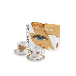 Max Petrone illy Art Collection Cappuccino Cups