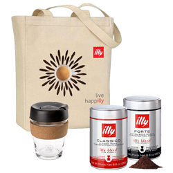 illy Travel Bundle Front View
