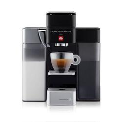 illy Y5 iperEspresso Francis Francis Machine - Milk Espresso & Coffee - Black