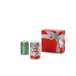 Coffee Green Christmas Tea Gift Set front view