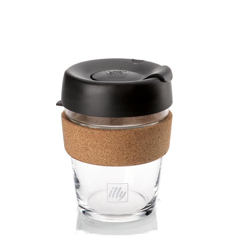 Kaffeebecher Travel Mug Keepcup Live Happilly Glas