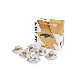 Max Petrone illy Art Collection Espresso Cup Set
