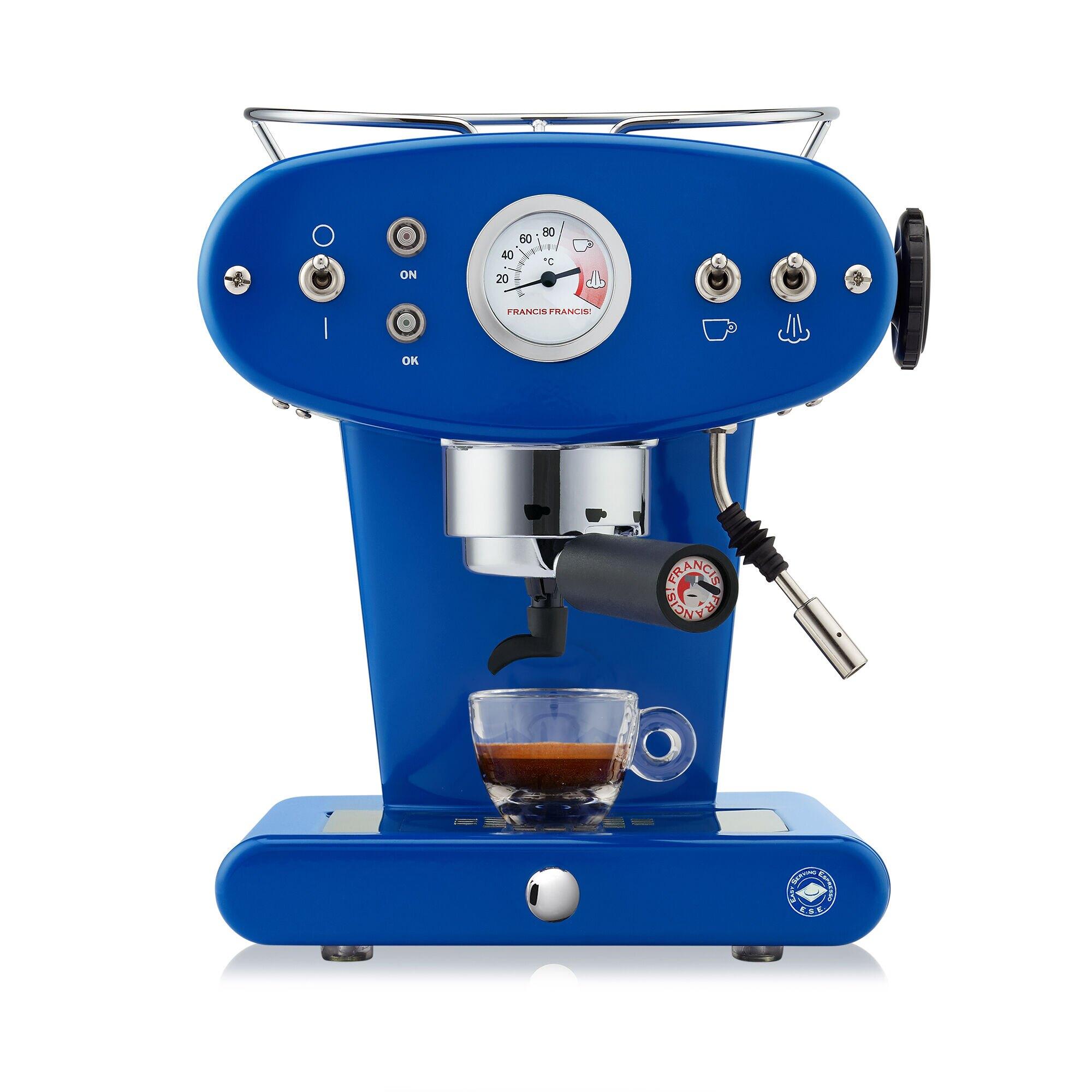 X1 Trio blu - macchina da caffè a cialde E.S.E.