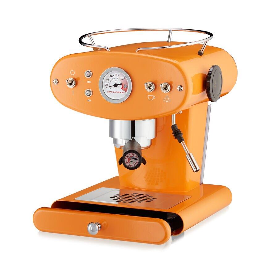 machine espresso pour caf moulu x1 orange illy shop. Black Bedroom Furniture Sets. Home Design Ideas