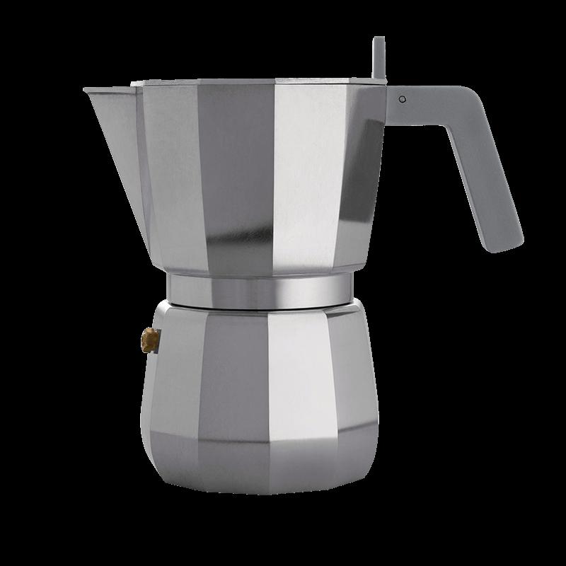Nuova Moka Alessi - Caffettiera da 6 tazze