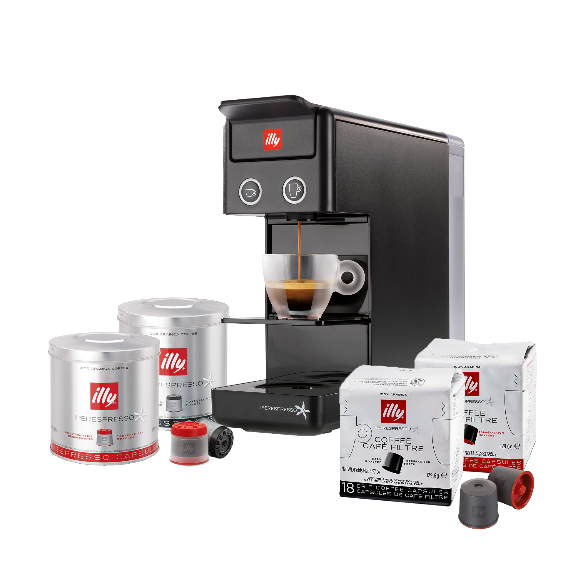 Y3.3 Home Coffee Break Bundle - Black