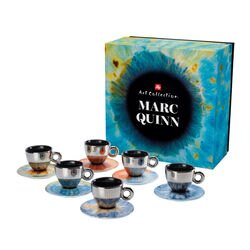 illy Art Collection Marc Quinn Set of 6 Cappuccino Cups