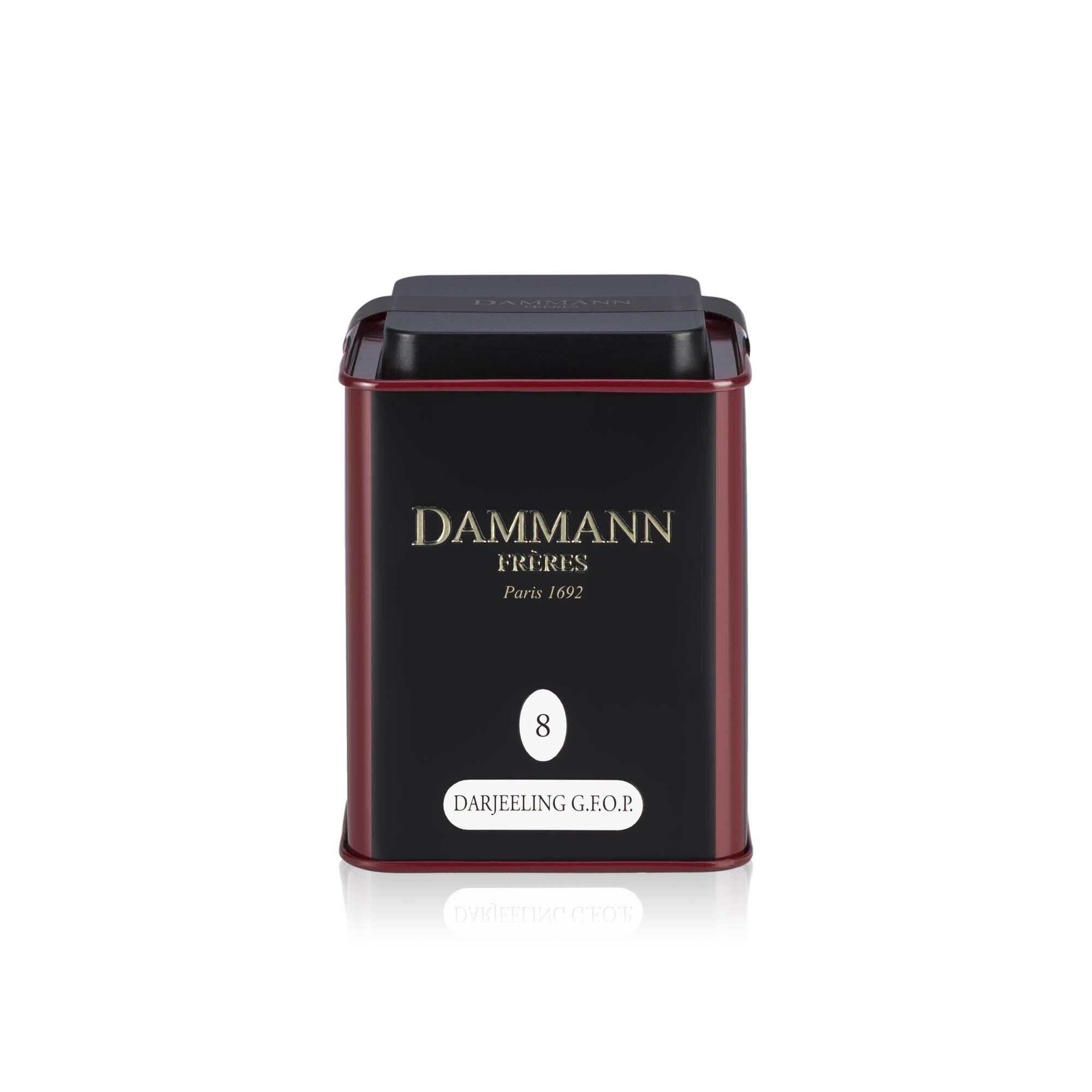Tè sfuso Dammann Darjeeling da 100 gr